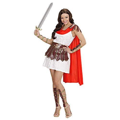 Widmann - volwassenen kostuum kruiwagen prinses Small wit/bruin/rood.