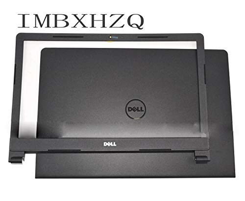 Compatible Replacement for Dell Inspiron 15 3565 3567 LCD Back Cover Top Case + Bezel 0VJW69 6C63X