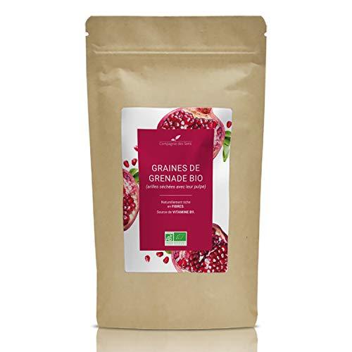 Graines de Grenade BIO - Fruits séchés en vrac - La Compagnie des Sens - 100g
