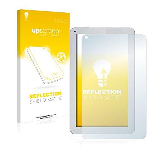 upscreen Entspiegelungs-Schutzfolie kompatibel mit irulu eXpro X1S (10.1) – Anti-Reflex Bildschirmschutz-Folie Matt