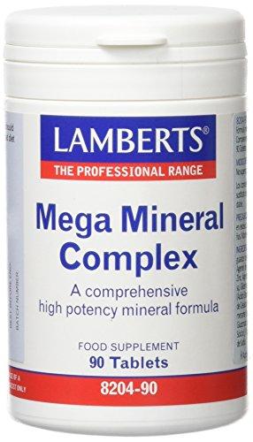 Lamberts Mega Mineral Complex - 90 Tabletas