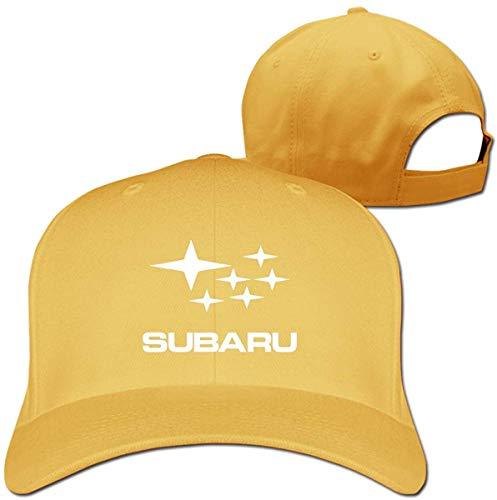 yikangshangmao2102 Cool Subaru Automobile Logo Verstellbare Baseballkappe für Herren und Damen, Blau