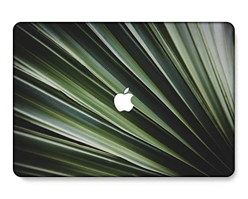 GangdaoCase Plastic Ultra Slim Light Hard Shell Case Cut Out Design for New MacBook Pro 15 inch with Touch Bar/Touch ID A1707/A1990 (Plants 0540)