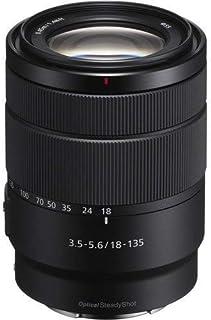 Sony SEL18135 - Lente Zoom (Montura E Formato APS-C 18-135 mm F3.5-5.6 OSS Zoom de 7.5 x) Color Negro