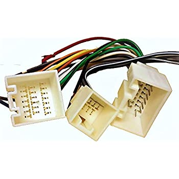 Amazon.com: Stereo with Amp Wire Harness Lincoln Navigator 03 04 05 (car  Radio Wiring ins.: AutomotiveAmazon.com