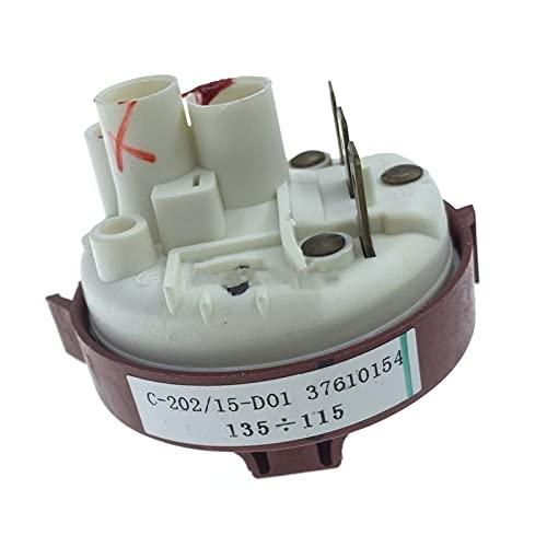 IOUVS C-202/15-D01 37610154 Piezas de lavavajillas Interruptor de presión de la Palanca de Agua Ajuste para Hansa/Gorenje/Candy/Samsung