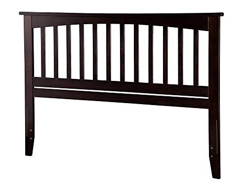 Atlantic Furniture Mission Headboard, Queen, Espresso,AR287841
