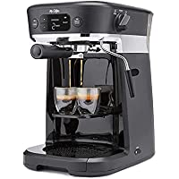 Mr. Coffee All-in- One Occasions 10-Cups Specialty Pods Coffee Maker with Milk Frother and Storage Tray (Black)