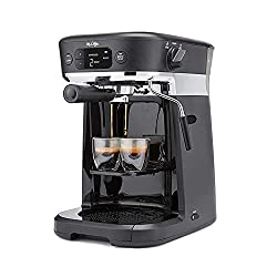 Image of Mr. Coffee All-in- One Occasions Specialty Pods Coffee Maker, 10-Cup Thermal Carafe, and Espresso with Milk Frother and Storage Tray, Black: Bestviewsreviews