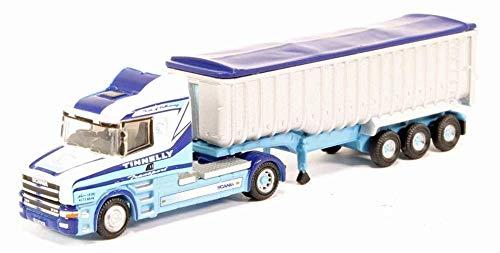 Busch 200124660 - Scania T Cab Tipper Tinnelly - maßstab 1/160 - N - Zubehör Für Dioramen Und Plastikmodelle - Modell Auto