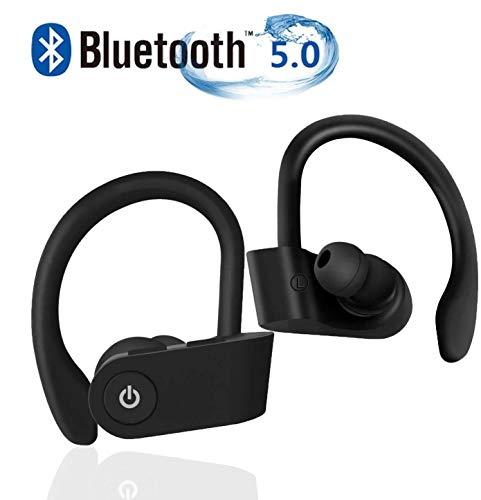 BOBOLover Auriculares Bluetooth Deportivos iOS y Android M/óviles In-Ear Cascos In/álambricos Est/éreo Auriculares magn/éticos Bluetooth Correr con Mic /áuriculares Bluetooth para iPad