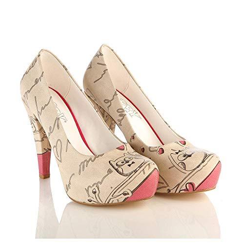 Cute Owl Heel Shoes PLT2052