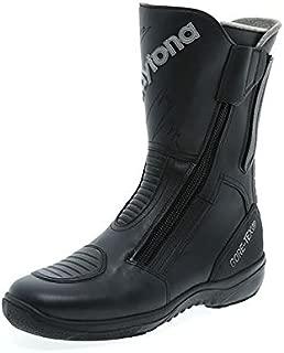 Daytona Road Star Gore Tex Regular Fit Black Leather Motorcycle Boot Size EU44, UK9.5