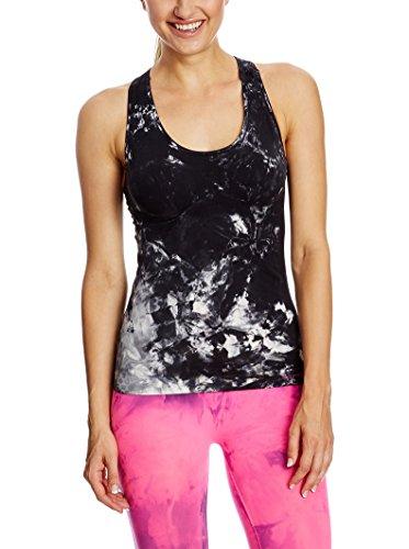 SPAIO Fitness T-Shirt Top Femmes, Noir/Blanc, S/M