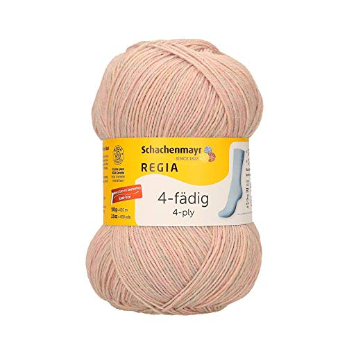 16 x 9 x 9 cm 25/% poliammide Gomitolo di lana vergine Regia 9801268-06840 colore: rosa shin/é