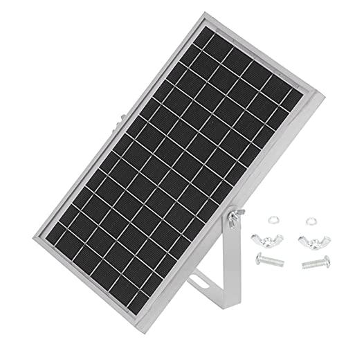 Módulo de panel solar, silicio policristalino + material de aleación de aluminio Panel solar Cargador de batería solar para portátiles Baterías de coche, coches, vehículos recreativos,