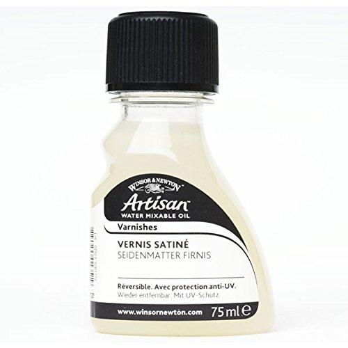 Winsor & Newton 2621727 Artisan Öl - Firnis für wassermischbare Ölfarben - Satin Firnis, 75ml Flasche