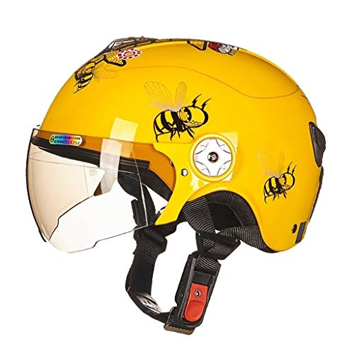 WXAD Outdoor-sporthelm, voor kinderen, motorfietshelm, halve helm, universeel, voor cartoon-tekening