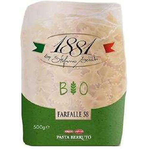 Pâtes italiennes Farfalle BIO n°58 - 1881 Pasta Berruto - paquet 500g