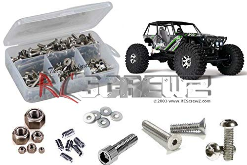 RCScrewZ Stainless Steel Screw Kit axi004 Compatible with Axial Racing Wraith RTR AX90018