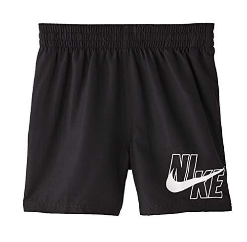 NIKE 4 Volley Short Bañador, Niños, Black, L