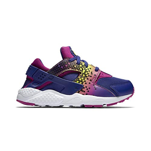 Nike Bambina Huarache Run Print (PS) Scarpe Sportive Multicolore Size: 27 1/2