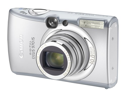 Canon Digital IXUS 970 IS Digitalkamera (10 Megapixel, 5-fach opt. Zoom, 6,4 cm (2,5 Zoll) Display, Bildstabilisator)