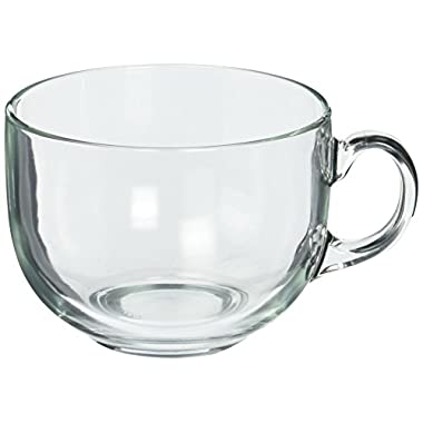 Luminarc Jumbo Mug , 24.25 oz., Clear, Set of 4