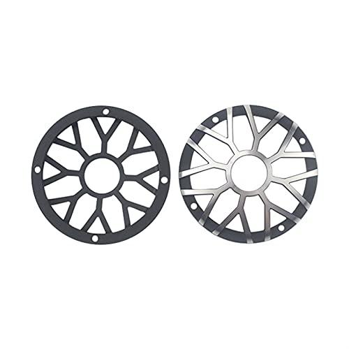 Wnuanjun 1Epairs 3 Zoll 92mm Car Center Lautsprechergrill Mesh für 3'3,5' Zoll Car Midrange Lautsprecher Abdeckung Aluminium dekoratives Netz