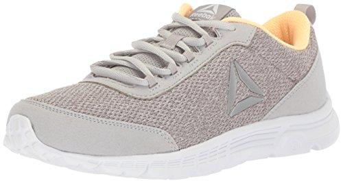 Reebok Speedlux 3.0 - Zapatillas deportivas para mujer, Gris (Gris/Desierto/Blanco), 42 EU