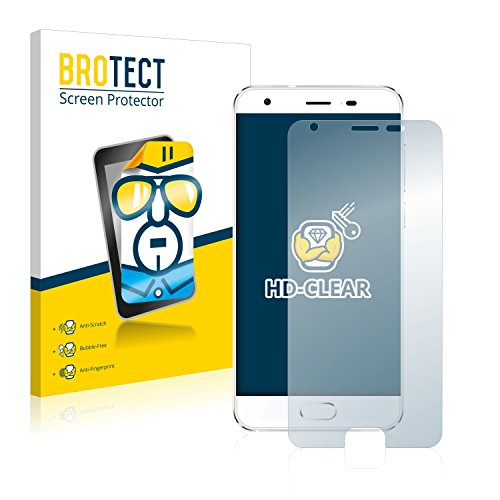 BROTECT Schutzfolie kompatibel mit Oukitel K4000 Plus (2 Stück) klare Bildschirmschutz-Folie