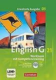 English G 21 - Erweiterte Ausgabe D / Band 5: 9. Schuljahr - Workbook mit Audio-Materialien: Mit Wörterverzeichnis zum Wortschatz der Bände 1-5: ... zum Wortschatz der Bände 1-5