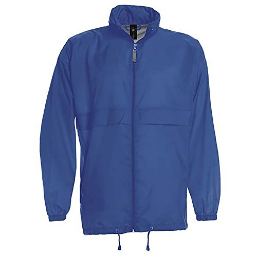 B&C Men's Sirocco Manteau Impermable, Bleu (Royal Blue 000),...