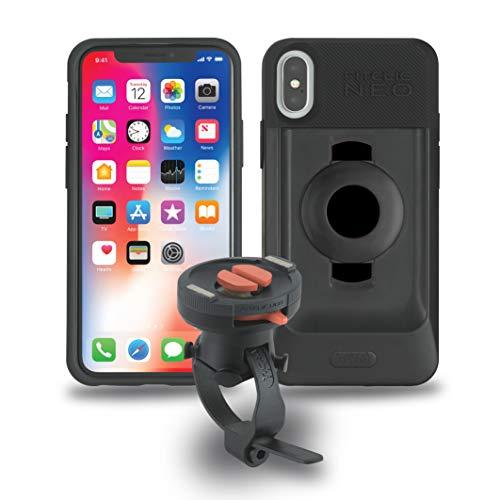 TiGRA Sport 自転車 スマホ ホルダー iPhone XS X スマホホルダー バイク FitClic Neo BIKE KIT for iPhone...