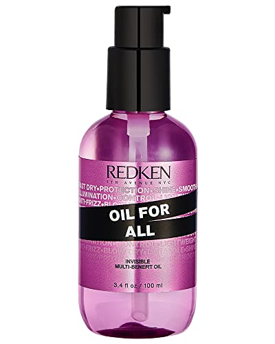 Redken Oil for All Heat Protectant and Anti Frizz Multi Benefit Hair Oil