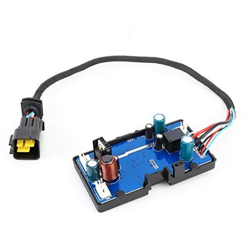 Controlador solar Controlador de la placa base 12V universal de plástico ABS de automóviles Aire acondicionado calentador de placa principal, el aire acondicionado de coches placa base del calentador