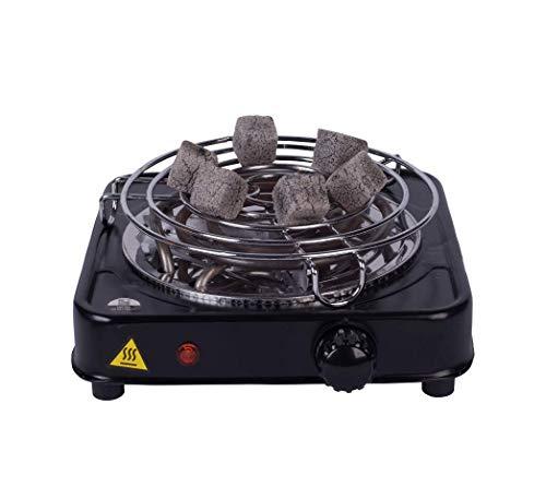 DIAMOND HOOKAH Premium Shisha Kohleanzünder elektrisch für Shisha Kohle - 5 Stufen Hitze, Kohlen Ofen, Kohlenanzünder elektrisch - 1000 Watt