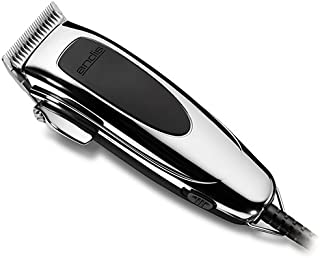 Andis PM4 Trendsetters II 9-Piece Home Grooming Clipper Kit for Men (Metallic)