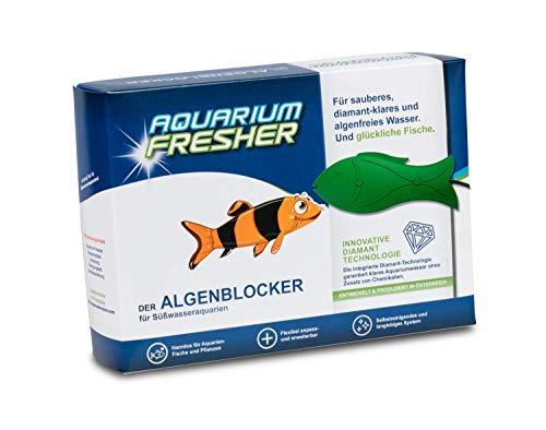 AquariumFresher für Aquarien bis 500L im Fisch-Design | Algenentferner gegen Algen | bekämpft Algen | Algenvernichter