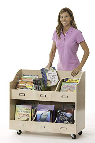 Guidecraft Mobile Book Organizer Set