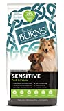 Burns Pet Nutrition Hypoallergenic Complete Dry Dog Food Adult and Senior Dog Sensitive with Pork and Potato 12 kg