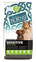 Developed by Veterinary Surgeon John Burns Made with natural ingredients Made without wheat Contains pork – novel protein source Contains potato – novel carbohydrate source Hypoallergenic Supports sensitive skin and digestion