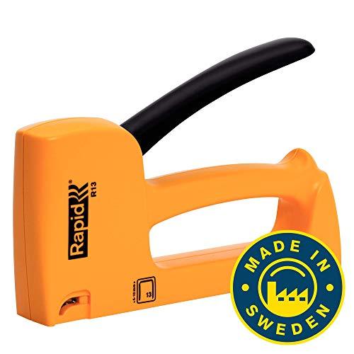 Rapid 20443901 Handtacker R13, Kunststoff, gelb