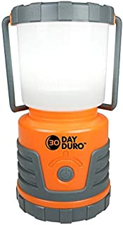 UST 30-Day Duro LED Portable 700 Lumen Lantern with Lifetime LED Bulbs and Hook for Camping, Hiking, Emergency and Outdoor Survival