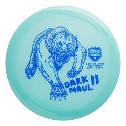 Discmania Limited Edition 2020 Signature Avery Jenkins Dark Maul II Color Glow C-Line PD Power Driver Distance Driver Golf Disc [Colors May Vary] - 173-175g