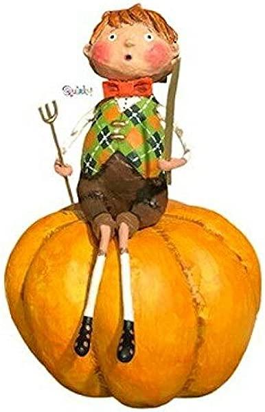 洛里 · 米切尔的《怪癖彼得 · 南瓜食客雕像》
