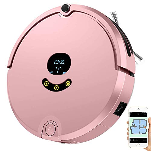 Buy Discount XCQLEI Vacuum Cleaner Robot1800Pa Suction, with Memory Function, Mobile APP Map, Infrar...