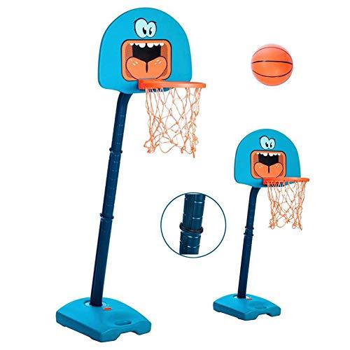 XHCP Baloncesto, Tablero, Mini Mini Aros portátiles para niños, Sistema de Baloncesto portátil de Altura Ajustable, Portátil portátil de Mano Ajustable de Baloncesto Objetivos portátiles