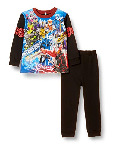 [バンダイ] 仮面ライダーシリーズ 寝ても覚めても光るパジャマ 531 2530165 ボーイズ 47725 ブラック 日本 110cm (日本サイズ110 相当)