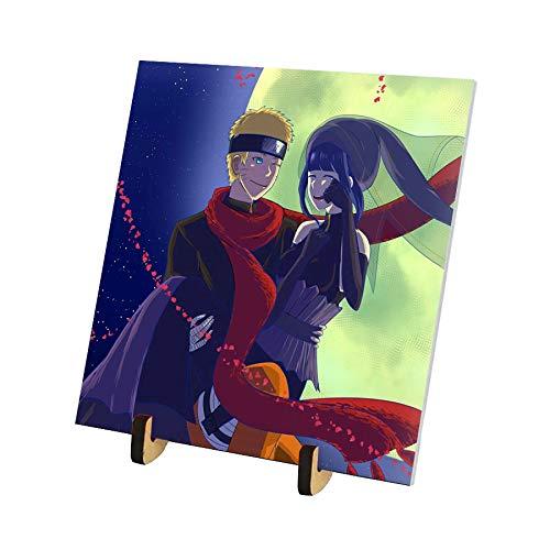 Azulejo 15x15 com pézinho CN Naruto e Hinata The Last